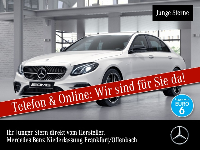 Mercedes-Benz E 43 AMG 4M AMG Fahrass 360° Distr. COMAND LED, Jahr 2017, Benzin