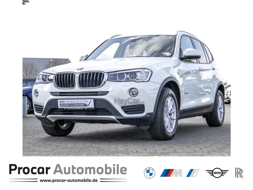 BMW X3 xDrive20d Aut. Navi Xenon Leder RFK Klimaaut., Jahr 2017, Diesel