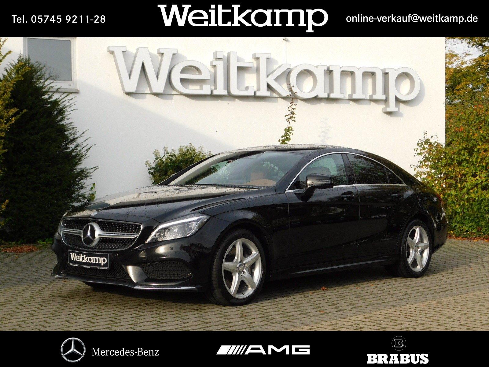 Mercedes-Benz CLS 350 d 4M Coupé AMG+Comand+Multib.+360°+SHD., Jahr 2016, diesel