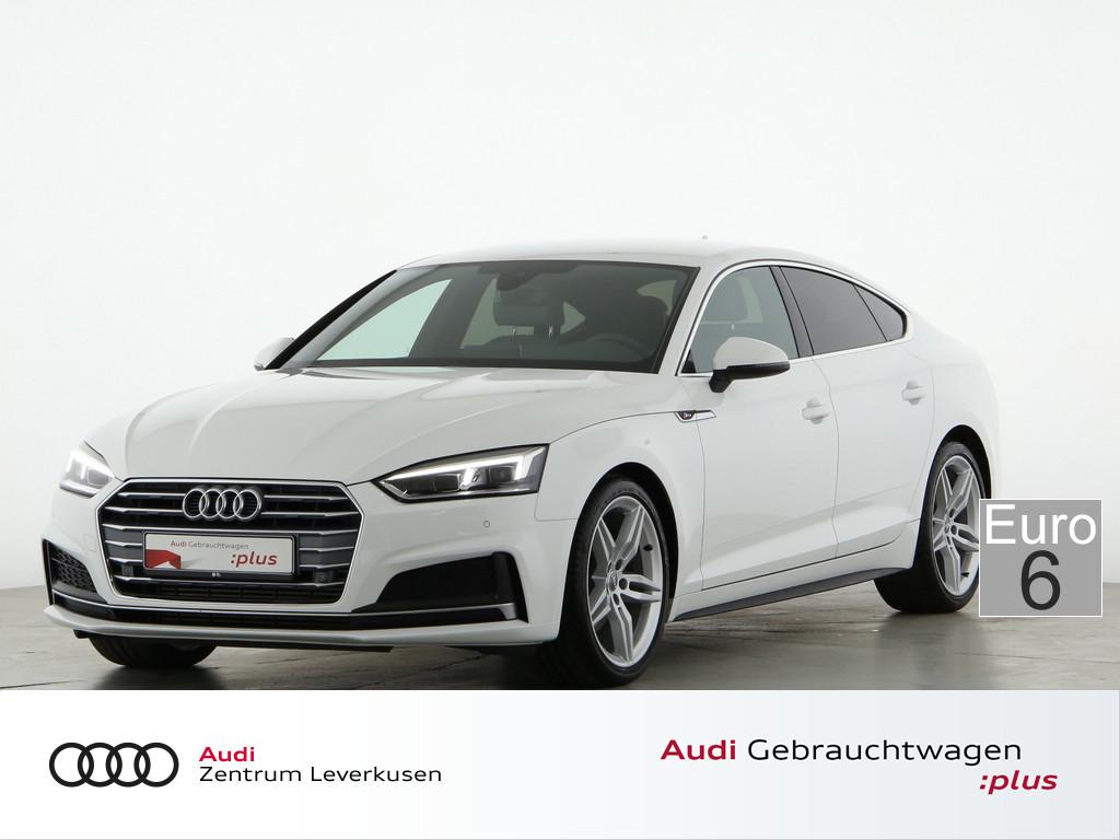 Audi A5 Sportback 2.0 sport, Jahr 2018, Benzin