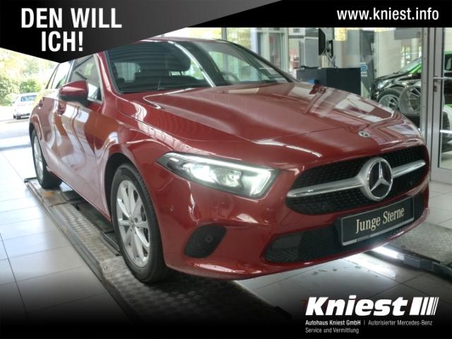 Mercedes-Benz A 200 Progressive+7G-DCT+Navi-P+AHK+LED+Memory+Business-P, Jahr 2020, Benzin