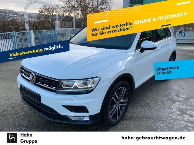 Volkswagen Tiguan Comfortline 1,4TSI Navi ACC LED VZE Spur, Jahr 2017, Benzin