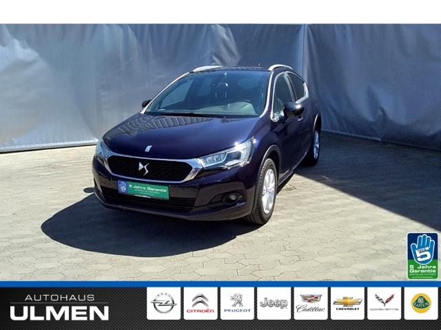 DS Automobiles DS 4 Crossback 1.6 BlueHDi 120FAP EU6 Navigation Voll-LED Radio Bluetooth PDCvo+hi+Kamera Klimaauto., Jahr 2017, Diesel