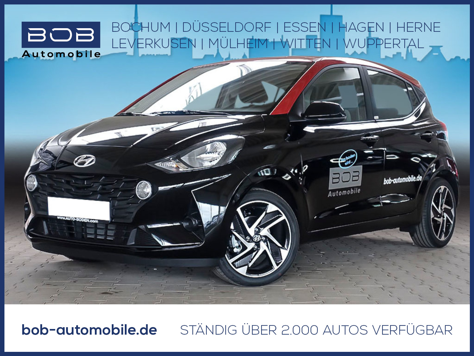 "Hyundai i10 1.0 Trend KomfortP NaviP 16""Alu Kamera SHZ, Jahr 2020, petrol"