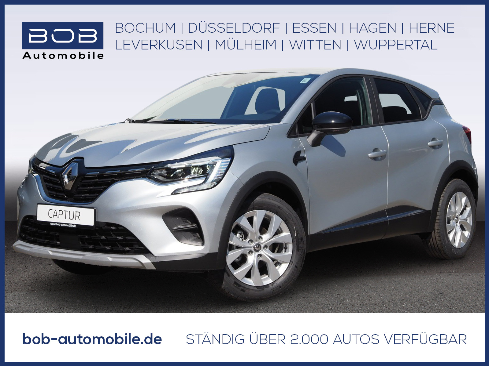 Renault Captur EXPERIENCE Deluxe TCe 130 GPF NAV SHZ PDC, Jahr 2021, Benzin