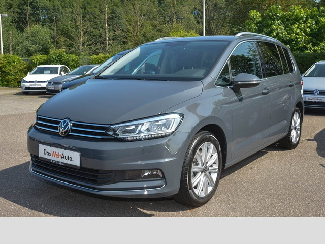Volkswagen Touran Highline 1.5 TSI DSG LED ACC DAB AppConnect Kamera 7 Sitzer 3 Jahre Anschlussgarantie Navi, Jahr 2020, Benzin
