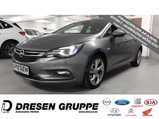 Opel Astra K INNOVATION 1.4 Turbo LEDER/NAVI/INTELLILUX/AGR-SITZE/SCHIEBEDACH, Jahr 2017, Benzin