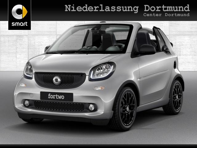 smart fortwo cabrio 66kW prime DCT cool&Media SHZ LED, Jahr 2019, Benzin