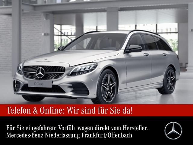 Mercedes-Benz C 200 T AMG WideScreen LED Night Kamera SpurPak 9G, Jahr 2020, Benzin