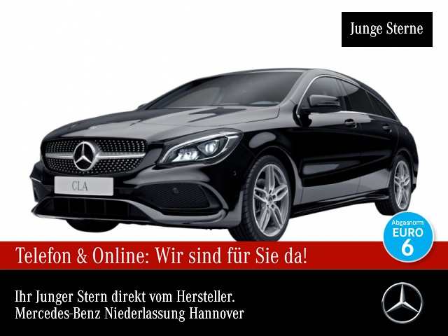 Mercedes-Benz CLA 220 d SB AMG Pano Harman LED AHK Kamera Navi, Jahr 2018, Diesel