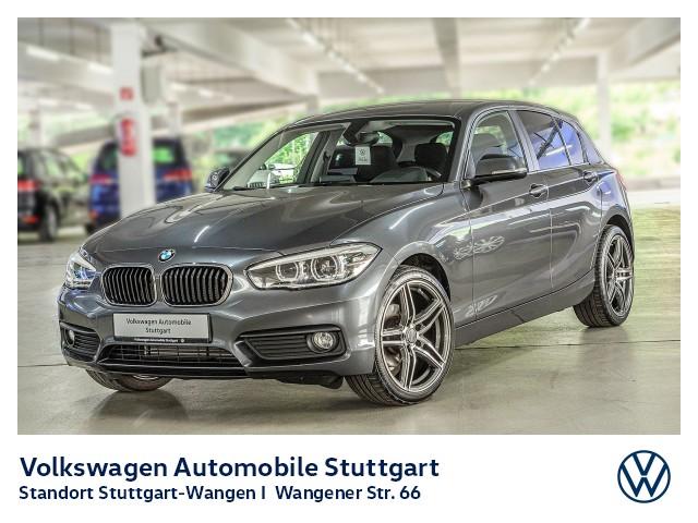 BMW 118i PDC SHZ Klima LED GRA Bluetooth SHZ, Jahr 2016, Benzin