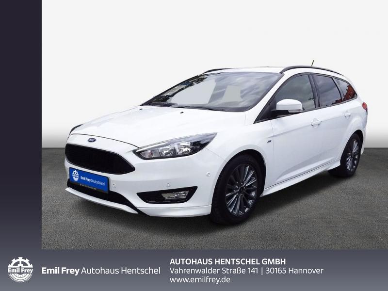 Ford Focus Turnier 1.5 EcoBoost Aut. ST-Line, Jahr 2018, Benzin
