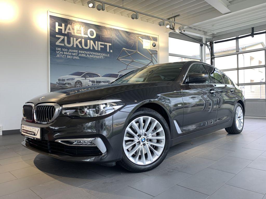 BMW 540i xDr. Luxury KOMF+HUD+NAVprof+LEDer+DRIV.ASS, Jahr 2017, Benzin