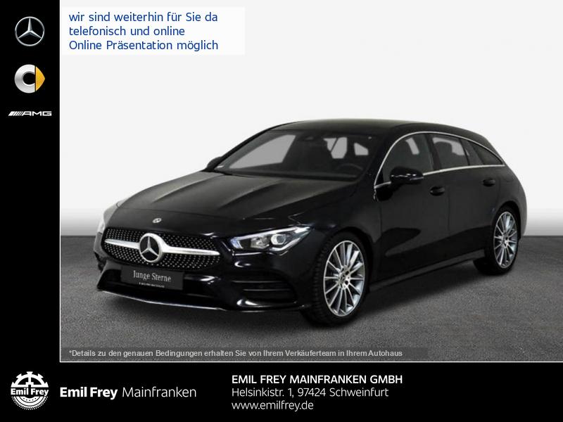 Mercedes-Benz CLA 250 Shooting Brake 7G-DCT AMG Line, Jahr 2019, Benzin