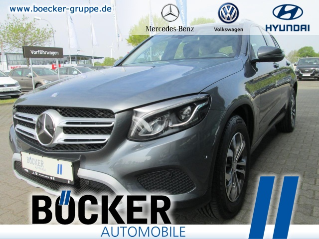 Mercedes-Benz GLC 220d 4Matic Distronic AHK Navi LED el.Klappe, Jahr 2016, Diesel