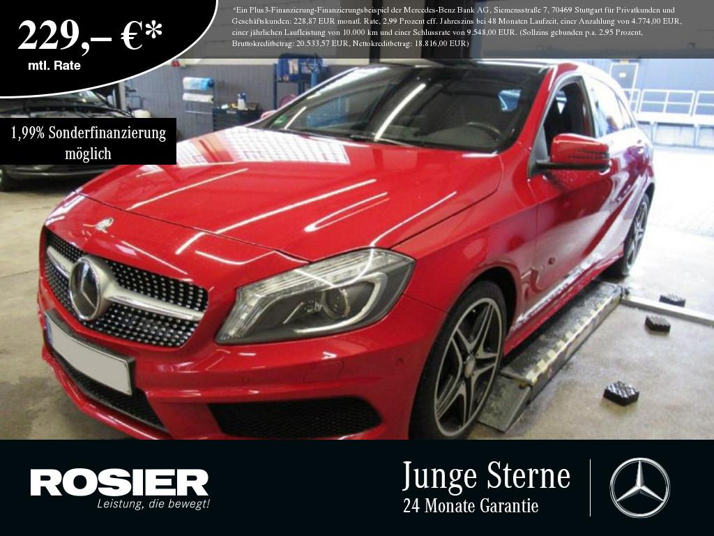 Mercedes-Benz A 220 4M AMG Sport Xenon Pano Navi SHD Sounds. S, Jahr 2015, Benzin