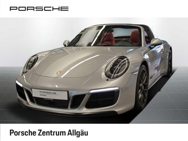 Porsche 911 Targa 4 GTS LED NAV ACC KAM LEDER ALU PDC XEN KLIMA, Jahr 2017, Benzin