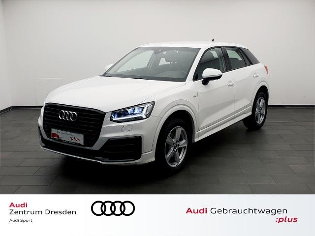 Audi Q2 1.5 TFSI S-lineLED-SW Standhz.ACC, Jahr 2019, Benzin