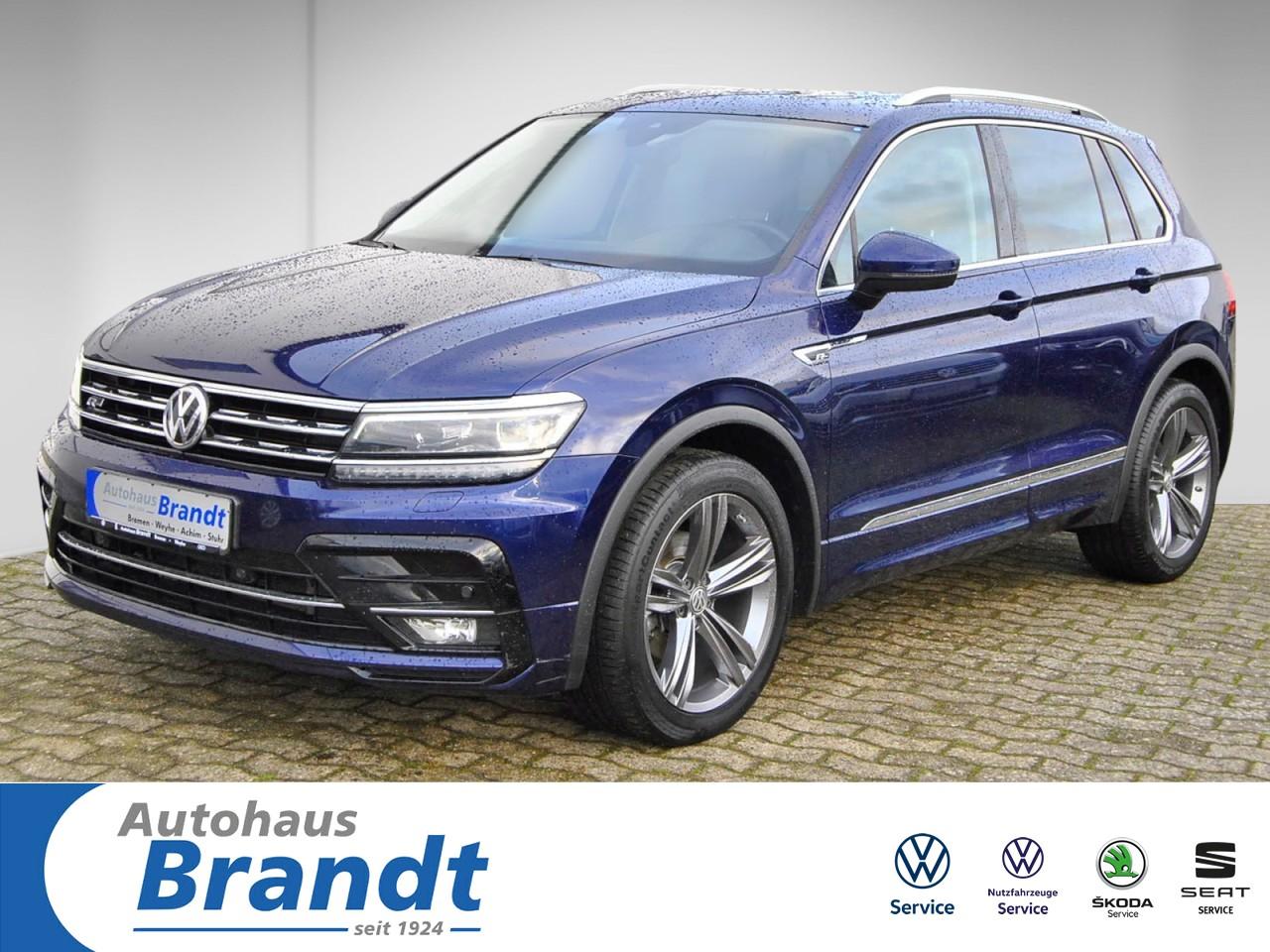Volkswagen Tiguan 2.0 TDI DSG*LED*NAVI*ACC*PANO*HUD*R-LINE, Jahr 2017, Diesel