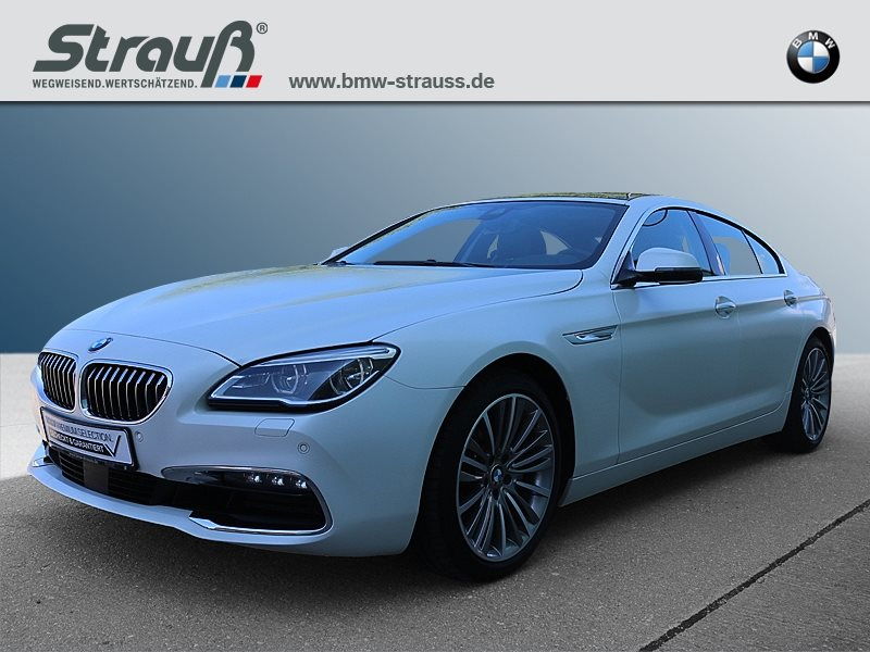 BMW 640d xDrive Gran Coupé EURO6 Head-Up HK HiFi DAB LED, Jahr 2015, diesel