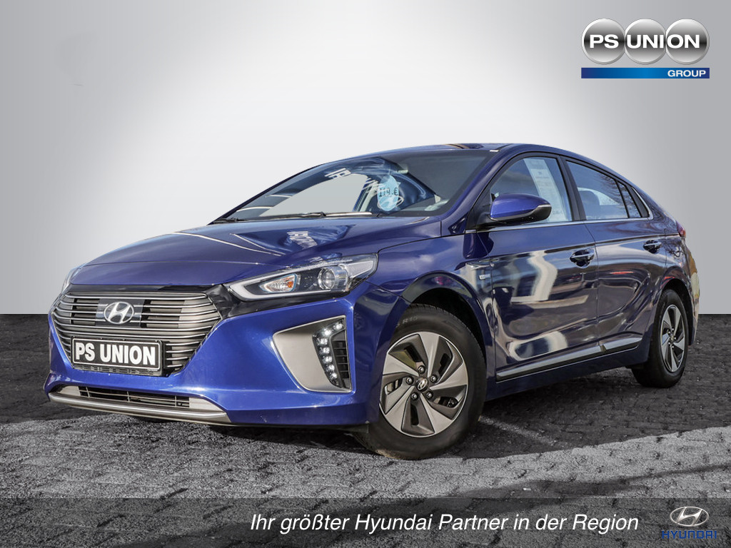 Hyundai Ioniq 1.6 Style Hybrid Navi ab mtl.179€, Jahr 2018, Hybrid