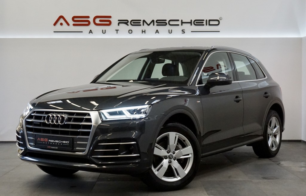 Audi Q5 2.0 TDI q. S-Tr. S Line *Virtual *ACC *1.Hand, Jahr 2017, Diesel