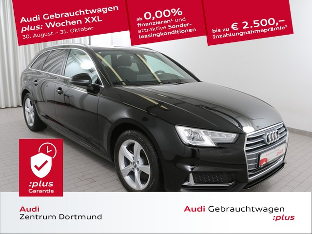 Audi A4 Avant sport 40TFSI Navi+/Pano/APS+/VC, Jahr 2019, Benzin