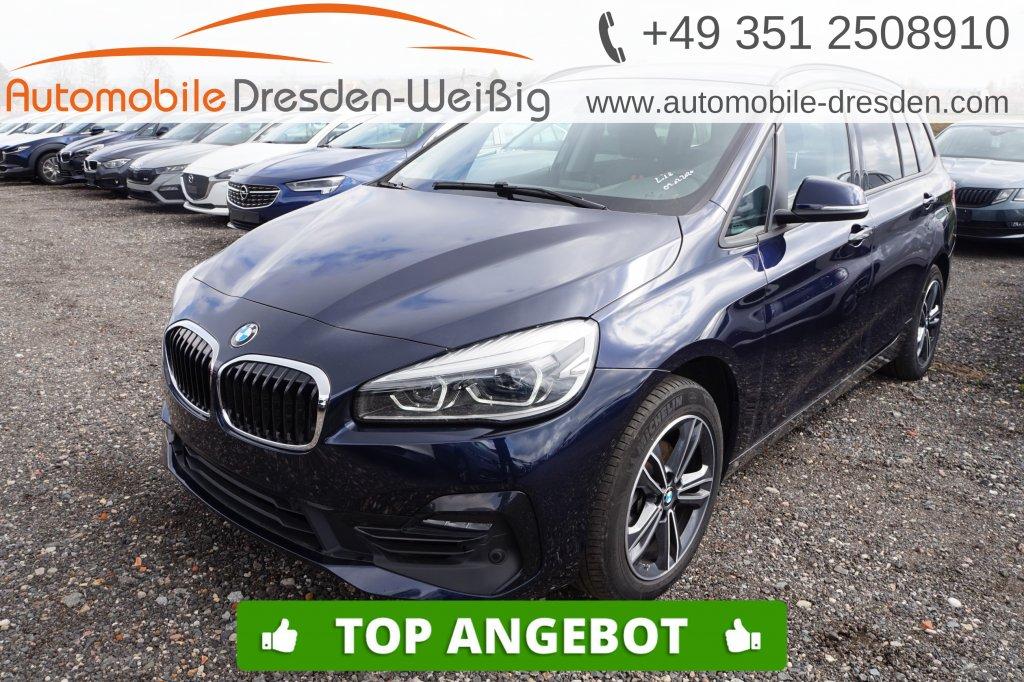 BMW 216 Gran Tourer i Sport Line*Navi*UPE 40.540€, Jahr 2019, Benzin