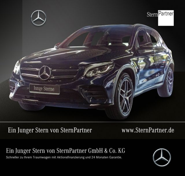 Mercedes-Benz GLC 300 4MATIC AMG LINE+COMAND+NIGHT+KAMERA+AHK, Jahr 2018, petrol
