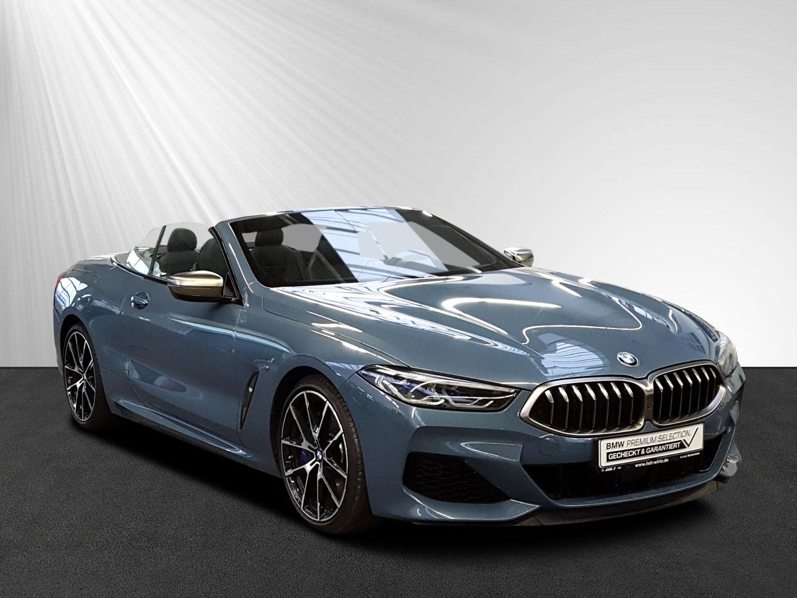 BMW M850i xDrive Cabrio Leasing ab 949,- br.o.Anz., Jahr 2018, petrol
