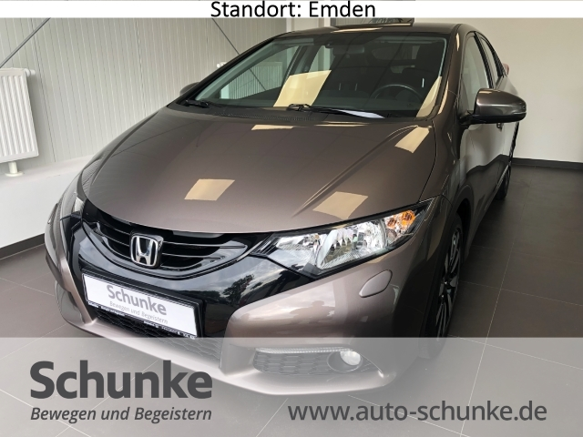 Honda Civic 1.8 Sport Rückfahrkam. Tempomat SHZ Klimaautom LED-Tagfahrlicht Multif.Lenkrad, Jahr 2014, Benzin