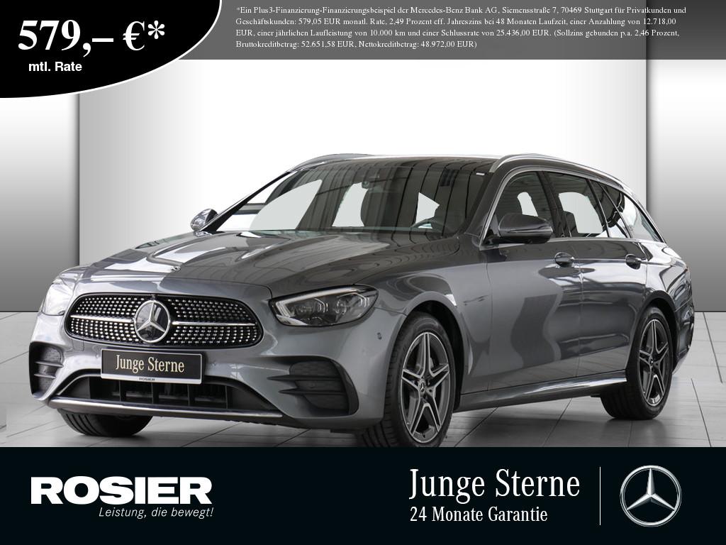 Mercedes-Benz E 450 T 4M AMG Sport, Jahr 2020, Benzin