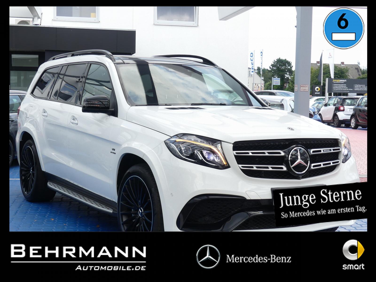 Mercedes-Benz GLS 63 AMG 4M +voll+Ausstattung+VMax+TV+Airmatic, Jahr 2017, Benzin