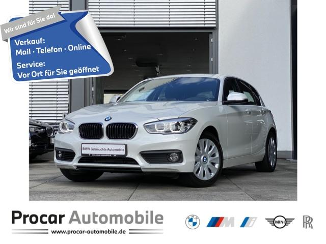BMW 118i Advantage Navi LED Klimaaut. PDC vo+hi Shz, Jahr 2019, Benzin