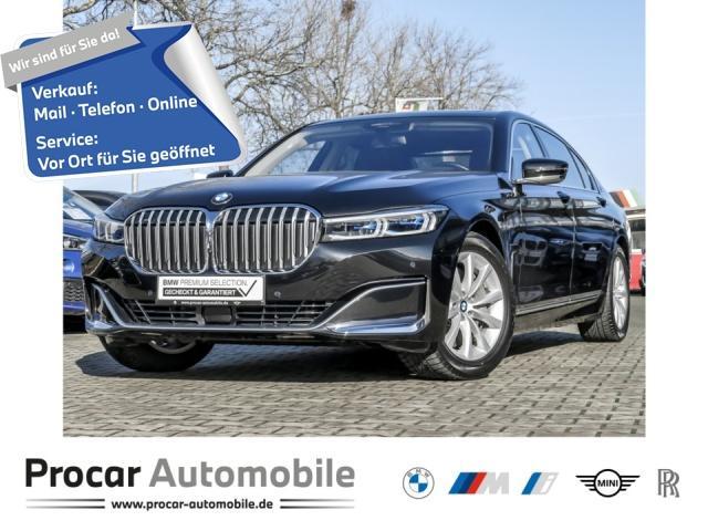 BMW 745Le xDrive Komfortsitze v/h HuD Glasd. Massage, Jahr 2019, Hybrid
