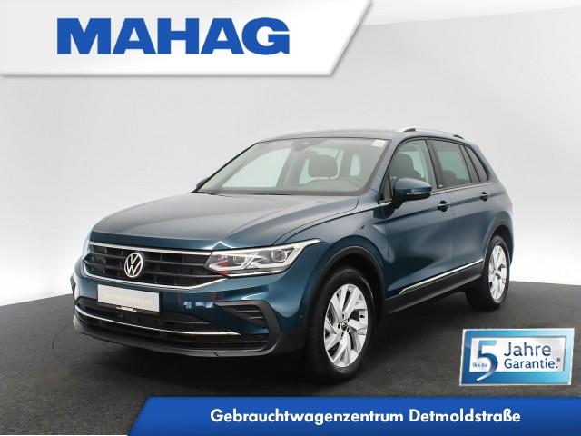 Volkswagen Tiguan United 1.5 TSI Navi MatrixLED AHK eKlappe ParkLenkAssist 17Zoll 6-Gang, Jahr 2020, Benzin