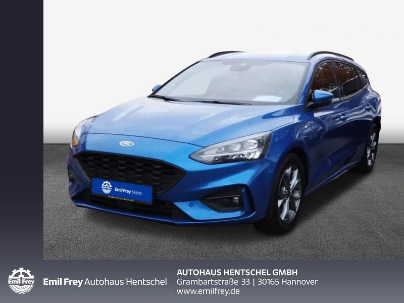 Ford Focus Turnier 1.0 EcoBoost Start-Stopp-System ST-LINE, Jahr 2019, Benzin