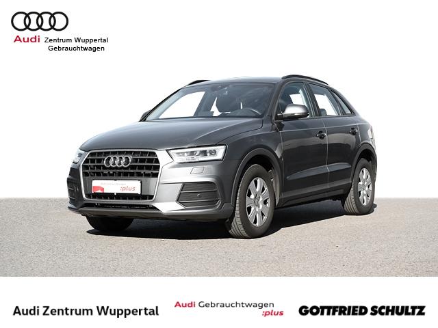 Audi Q3 2.0TDI AHK LANE LED NAV GRA SHZ PDC VO HI FSE MUFU 16ZOLL, Jahr 2018, Diesel