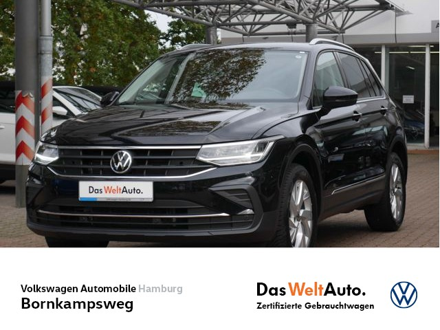 Volkswagen Tiguan 2,0 TDI Life 4M DSG AHK/PDC/NAVI, Jahr 2021, Diesel