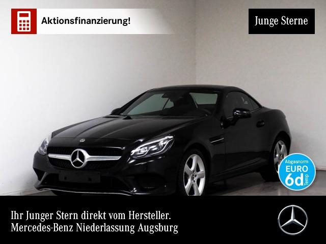 Mercedes-Benz SLC 180 Pano ILS LED Airscarf Navi Totwinkel PTS, Jahr 2018, petrol