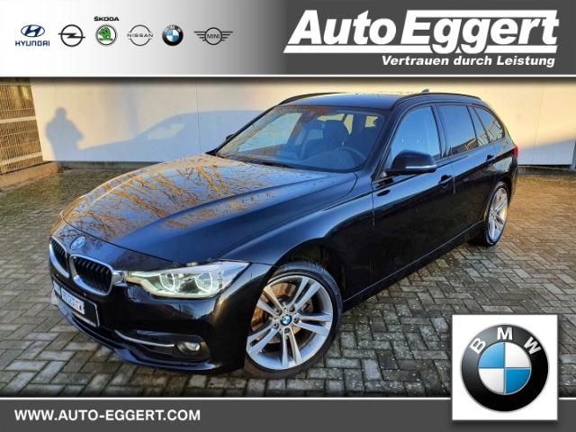BMW 325 d Sport Line Touring LED Navi Keyless Kurvenlicht HUD Fernlichtass. El. Heckklappe, Jahr 2017, Diesel