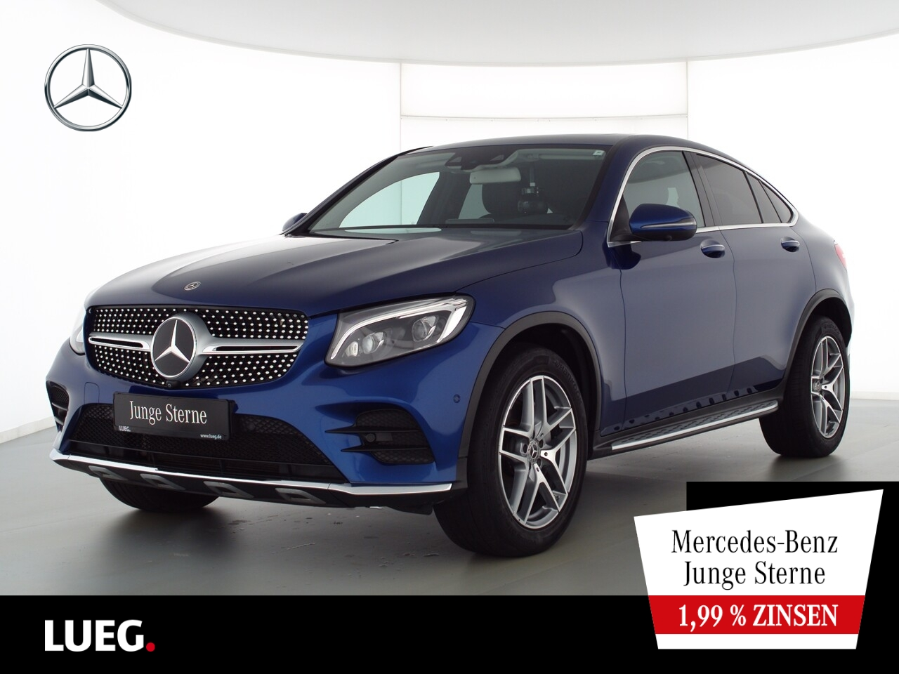 Mercedes-Benz GLC 250 d 4M Coupe AMG+COM+SHD+Burm+LED+AHK+360°, Jahr 2017, Diesel