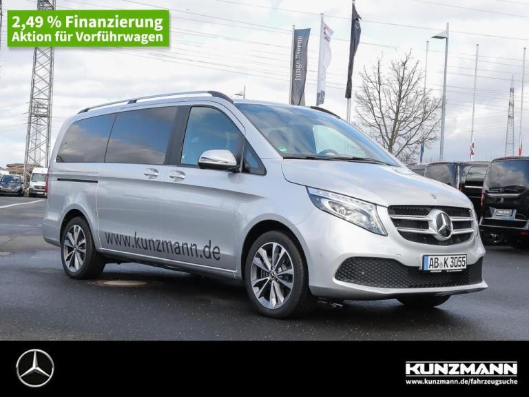 Mercedes-Benz V 300 d Leder Navi LED AHK Standheizung 7-Sitze, Jahr 2019, Diesel