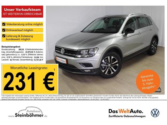 Volkswagen Tiguan IQ.Drive 1.5TSI Navi AHK ACC 5JGarantie, Jahr 2020, Benzin