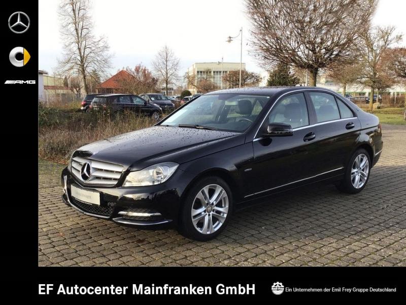 Mercedes-Benz C 180 7G-TRONIC Avantgarde+PTS+Sitzhzg+SpiegelPak, Jahr 2012, petrol