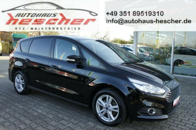 Ford S-Max 2,0 TDCi PowerShift Business*NAVI*AHK*EU6*, Jahr 2017, Diesel