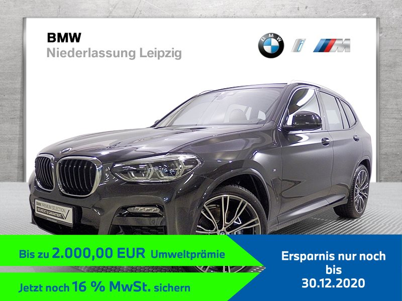 BMW X3 xDrive20d ZA EURO6 M Sport Head-Up HK HiFi Dyn. Dämpfer, Jahr 2019, Diesel