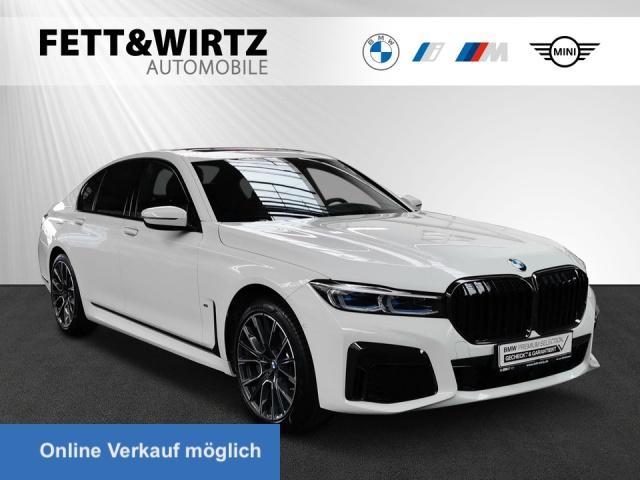 BMW 745e M Sport 20'' Massage HUD TV+ GSD Soft-Cl., Jahr 2020, Hybrid