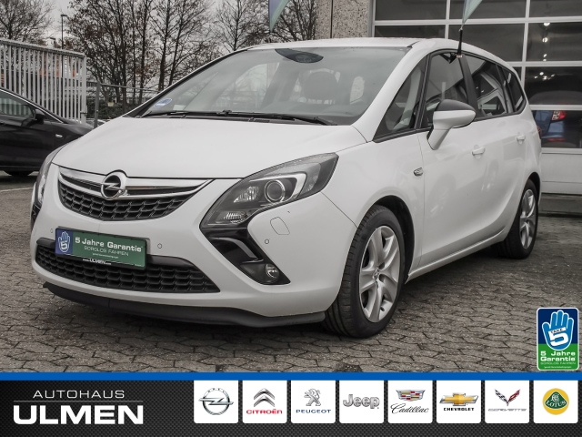 Opel Zafira Tourer C Business Edition 2.0CDTI EU6 AHK Navi Xenon Sitzheizung Klimaauto.Tempomat PDCvo+hi, Jahr 2016, Diesel