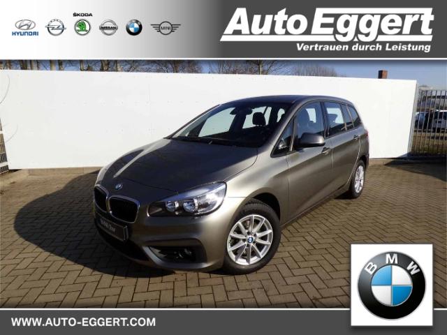 BMW 218 Gran Tourer i Advantage 7-Sitzer LED-Tagfahrlicht Multif.Lenkrad RDC Klimaautom SHZ, Jahr 2015, Benzin